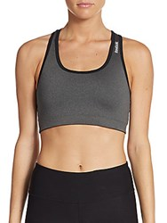 Reebok Everyday Reversible Sports Bra Charcoal