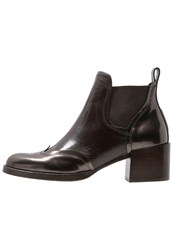 Zinda Ankle Boots Moro Dark Brown