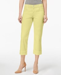 Styleandco. Style Co Petite Curvy Fit Capri Jeans Created For Macy's Soft Sun