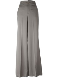 Etro High Waisted Palazzo Pants Brown