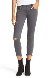 Free People Women's Destroyed Skinny Ankle Jeans