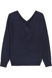 Iris And Ink Cashmere Sweater Navy