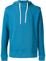 Outerknown Hooded Sweater Blue