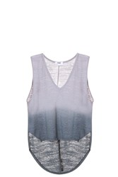 Lna Back Tail Tank Grey