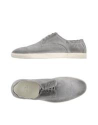 N.D.C. Made By Hand Footwear Lace Up Shoes Men Grey