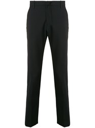 Dondup Tailored Fitted Trousers Black