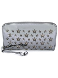 Jimmy Choo Filipa Wallet Metallic