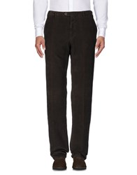 Germano Casual Pants Dark Brown