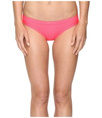 Nike Core Solids Training Bikini Bottom Racer Pink Women's Swimwear Red
