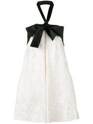 Zimmermann Winsome Suspended Bow Dress White