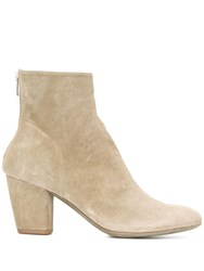 Officine Creative Zipped Ankle Boots Neutrals
