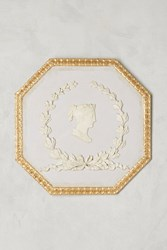Anthropologie Profile Intaglio Wall Art Lavender