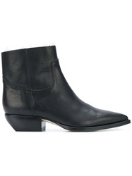 Saint Laurent Casual Styled Boots Black