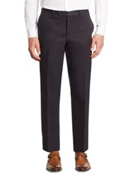 Saks Fifth Avenue Collection Cotton Chino Pants Navy