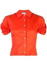 Alexis Wallis Top Orange