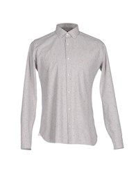 Giampaolo Shirts Light Grey