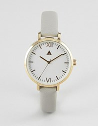 Asos Sleek Face Watch Grey