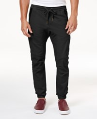 Ring Of Fire Men's Stretch Jogger Pants Created For Macy's Black