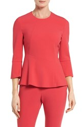 Boss Women's Itanea Top Ruby Red