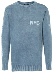 Guild Prime Nyc Knitted Jumper Blue