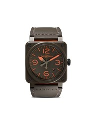 Bell And Ross Br 03 92 Ma 1 42Mm Kakhi And Orange