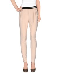 Pianurastudio Trousers Casual Trousers Women Beige