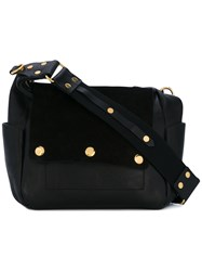 Isabel Marant Bless Day Bag Women Leather Suede One Size Black