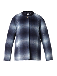 Stella Jean Sheela Brushed Checked Jacket