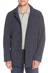 Sanyo Men's Packable Rain Coat Dark Blue