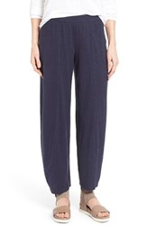 Women's Eileen Fisher Hemp And Organic Cotton Wide Leg Ankle Pants