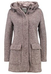 Bomboogie Short Coat Grey Fog Anthracite