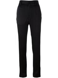 Haider Ackermann 'Glyzinie' Slim Fit Trousers Black
