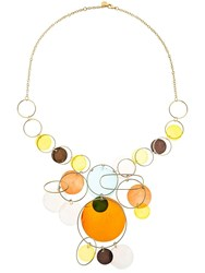 Missoni Mother Of Pearl Necklace Blue Yellow
