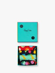 Happy Socks Game Night Gift Box One Size Pack Of 4 Multi