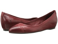 Frye Alicia Ballet Burnt Red Soft Vintage Leather Women's Flat Shoes