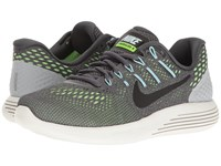 Nike Lunarglide 8 Dark Grey Black Ghost Green Glacier Blue Women's Running Shoes Gray