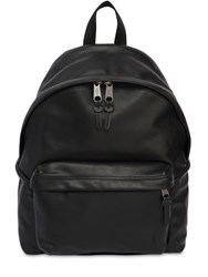 Eastpak 24L Padded Pak'r Leather Backpack Black