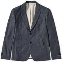 Gant Rugger Cotton Twill Blazer Blue