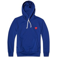 Comme Des Garcons Play Pullover Hoody Blue