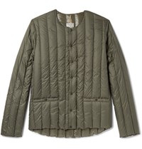 Rocky Mountain Featherbed Six Month Quilted Shell Down Jacket Green