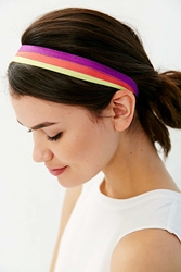 Urban Outfitters Kayas Sport Headwrap Set Red Multi