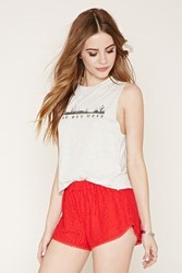 Forever 21 Lace Dolphin Shorts