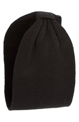 Collection Xiix 'Solid Basis' Knit Head Wrap Black Black Paint