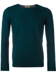 Nuur Crew Neck Jumper Green