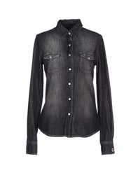Hydrogen Denim Denim Shirts Women Black
