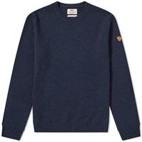 Fjallraven Ovik Crew Knit Blue