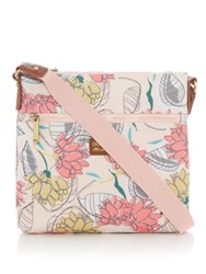Ollie And Nic Cuba Small Crossbody Bag Pink