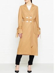 C Meo Collective Unstoppable Trench Coat Tan