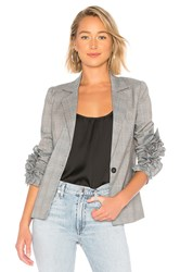 Line And Dot Abigail Blazer Gray