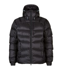 Pyrenex Quilted Down Long Jacket Male Black